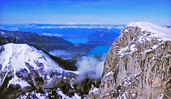 FRANCE - Alps and Annecy Lake (Jacques Rollet (VERY SICK)) Tags: france alps alpes mountain montagne paysage landscape snow neige