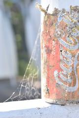 (amelia.seddon) Tags: cola cocacola nikond5500 digital everydaybeauty autumn wood metal decay wear trash rubbish trace discarded melancholy light sunlight