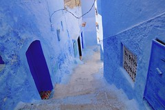 Blue Hues (maios) Tags: chefchaouen morocco bluecity blue city maios nikond7100 nikon d7100 africa color wall street bluewall bluehues hues