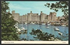 Caernarfon Castle (tico_manudo) Tags: wales gales reinounido unitedkingdom europa postcards caernarfoncastle castillodecaernarfon