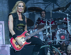Nita Strauss playing for Alice Cooper @ 2016 Copenhell (Al Case) Tags: nikon d500 alice cooper nita strauss concert photography nikkor 24120mm f4g copenhell al case