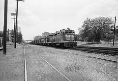 CB&Q GP30 955 (Chuck Zeiler48Q) Tags: cbq gp30 955 burlington railroad emd locomotive naperville train chuckzeiler chz