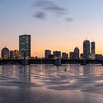 Boston Skyline - Cambridge - Golden Hour thumbnail