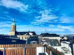 Der Frühling kommt langsam (M&K Photographie) Tags: stannenkirche wolken himmel blau annabergbuchholz mkphotographie