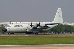 60105 Royal Thai Air Force Lockheed C-130H-30 Hercules at Don Meuang Airport Bangkok on 12 January 2019 (Zone 49 Photography) Tags: aircraft transportairplane aeroplane january 2019 vtbd dmk bangkok thailand donmeuang royal thai air force lockheed c130 130h 30 hercules 60105