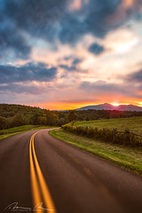 Into the golden hour (McMannis Photographic) Tags: blueridgeparkway photography northcarolina destination sunset travel landscapeandnature carolinas explore nc southeast tourism ngc world trekker hike