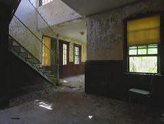 Anti-Jumper (jgurbisz) Tags: jgurbisz vacantnewjerseycom abandoned ma massachusetts westboroughstatehospital westborough asylum decay stairwell exploration adventure
