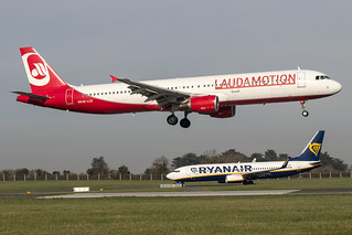 OE-LCK | Laudamotion | Airbus A321-111 | CN 5133 | Built 2012 | DUB/EIDW 25/02/2019 | ex D-ABCK