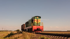ЧМЭ3-6113 (Pavel888) Tags: тепловоз локомотив маневровый россия ржд деревня 582км russia rzd fujifilm fujinon xf27mm xt2 chme3 6113 chme36113 ювжд чмэ3 чмэ36113