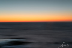 Sunset at Middle Brighton Beach (sachman75) Tags: brightonbeach melbourne victoria icm incameramovement sunset abstract beach sky waves pastels canon1dxmark sigmaart50mmf14 seascape ocean lansdcape