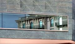 interference (Bernergieu) Tags: switzerland lugano ticino architektur architecture fenster windows reflection spiegelung glas glass windowwednesdays windowwednesday