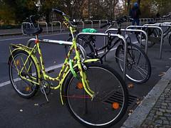 Glücksfahrrad (ingrid eulenfan) Tags: fahrzeug fahrrad marienkäfer glückskäfer