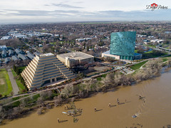 Sacramento, CA (DreyerPictures (12 million views - Thank You!)) Tags: aerialview dji oldsacramento phantom4pro sacramento aerial bridge city dreyerpicturescom drone panorama river water california unitedstatesofamerica us