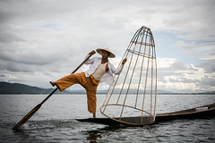(Laszlo Horvath.) Tags: sigma1835mmf18art nikond7100 inlelake fisherman myanmar burma