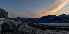 On the way down............. (apcmitch) Tags: mountains glaciers moraine evening greenland eastgreenland2014 sonya7 dolphin