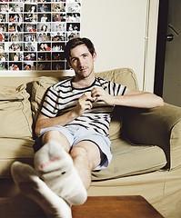 Brian McElhaney (mondonville) Tags: acteur chaussettes actor socks