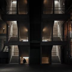 "22,560 ""The Next Day"" (Panda1339) Tags: square lonefigure nightphotography london cinematic walking ldn southbank streetphotography uk figure"