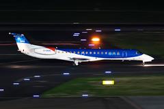 G-CKAG bmi Regional Embraer ERJ-145EU (buchroeder.paul) Tags: eddl dus dusseldorf international airport germany night ground gckag bmi regional embraer erj145eu