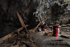 A man and his camera. (lortopalt) Tags: srt climbing since rope technique abandoned övergiven övergivna gruvor gruva mine mines nikon d850