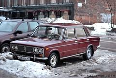 Lada 2103 - Russia, Leningrad (Helvetics_VS) Tags: licenseplate russia leningrad oldcars lada 2103 vaz2103 lada2103 lada1500