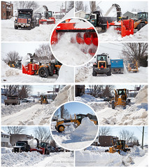 Snow Removal 2019 (Chaos2k) Tags: 52weeks 52weeksthe2019edition brianboudreau canon5dmarkii canon24105l northbay ontario canada winter snow snowremoval trucks snowblower grader frontendloader collage 2019