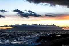 Sombrero de nubes (Dawlad Ast) Tags: tenerife islas canarias canary island atardecer sunset mar sea ocean playa beach paisaje landscape febrero 2019 españa spain la gomera isla