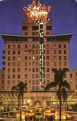 El Cortez Hotel, San Diego, California (Thomas Hawk) Tags: america cafecortez california elcortezhotel hotel pacificoroom sandiego usa unitedstates unitedstatesofamerica vintage neon postcard fav10