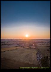 180917-0913-MAVICP-HDR.JPG (hopeless128) Tags: 2018 france sky eurotrip sunset sun fields verteuilsurcharente charente fr