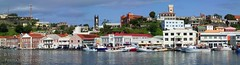Panoramic View of St. Georges (formaimages) Tags: carenage boats waterfront grenada caribbean westindies panorama