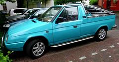 Škoda Pick-up (Schwanzus_Longus) Tags: bremen german germany car vehicle modern czech skoda škoda pickup pick up truck ute favorit