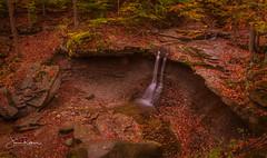 Blue Hen Falls (roar_1_00) Tags: nature ohio northeastohio explore hike waterfall sunset sunrise nationalpark cuyahoga cvnp