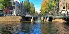 2018 revisited 45 (Peter ( phonepics only) Eijkman) Tags: amsterdam city grachten gracht canals water nederland netherlands nederlandse noordholland bruggen bridges holland