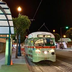 Back to Market Street (Ricky Leong) Tags: california night photography photowalk random sanfrancisco streetcar transit transportation travel usa unitedstates urban