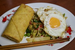 fullsizeoutput_f5a4 (Fan Majie 範瑪姐) Tags: food eggs veggies eggroll