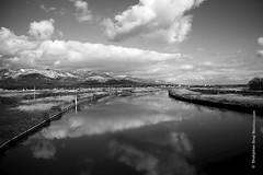 Heavenly Clouds / জলে ভাসা মেঘ! (shahjahansiraj.com) Tags: cloud heaven nature reflection river japan niigata sadoshi landscape artphotography conceptualphotography