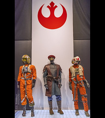 Star Wars & the Power of Costume - The Resistance (J.L. Ramsaur Photography) Tags: jlrphotography nikond7200 nikon d7200 photography photo cincinnatioh thequeencity hamiltoncounty ohio 2017 engineerswithcameras thequeenofthewest photographyforgod thesouth southernphotography screamofthephotographer ibeauty jlramsaurphotography photograph pic cincinnati tennesseephotographer cincinnatiohio thebluechipcity nati thecityofsevenhills queencity porkopolis thenati nastynati cincy starwarsandthepowerofcostume starwars thepowerofcostume smithsonianinstitutiontravelingexhibitionservice lucasmuseumofnarrativeart lucasfilmltd costume powerofcostume exhibit anewhope returnofthejedi theempirestrikesback revengeofthesith thephantommenace attackoftheclones theforceawakens rogueone starwarscharacters characters cincinnatimuseumcenter theforce maytheforcebewithyou empire rebels rebellion thedarkside jedi goodvsevil galacticsenate thelastjedi theresistance captaintypho resistancefighterpilots resistanceinsignia