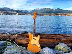 On the Rocks (Pennan_Brae) Tags: guitarphotography guitarporn musicphotography vancouver vancouverbc guitars guitar electricguitars electricguitar vintageguitars vintageguitar fenderguitars fenderguitar