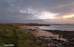 Blowing in the wind - Glassagh Beach,Jan (Liamfm .) Tags: codonegal ireland derrybeg beach