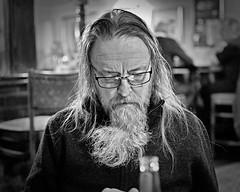 Jerry (Geoff Henson) Tags: man beard hair glasses spectacles pub portrait dark highiso dragan bottle bar cof053 cof053cott cofo53ksen cof053mark cof053dmnq cof053chri cof053cg