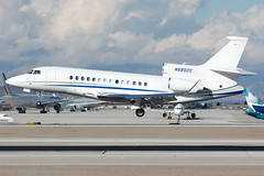 Private N685DC (Drewski2112) Tags: las vegas international airport klas dassault falcon 7x fa7x n685dc
