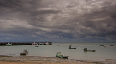 Cancale harbor (JLM62380) Tags: bretagne breizh britain france sea mer jetée bateau huitre boat jetty pier cancale oyster harbor sky ciel nuages