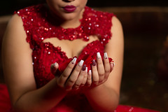 lizethnails (atelierphotographie) Tags: nails red xv love ladyinred model time life travel