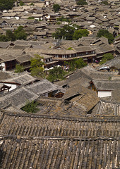 Roof Tops Of Old Town, Lijiang, Yunnan Province, China (Eric Lafforgue) Tags: a0007644 architecture asia buildingexterior builtstructure china chineseculture city colorpicture day dayantown elevatedview highangleview history idyllic lijiang mansion nature nopeople oldtown outdoor outdoors roof series shangrilacounty town traditionalculture traditionallychinese tranquility travel unescoworldheritagesite vertical yunnan yunnanprovince