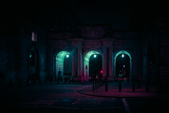 21,211 (Panda1339) Tags: parliamentstreet 28mm lensflare london cinematic arches streetphotography urbanscape ldn uk light