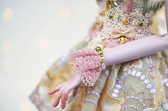 Dress of a Queen (Chantepierre) Tags: bjd balljointeddoll balljointed doll fc fullcusto full custo custom chantepierre ladicius legit legitdoll peakswoods vampire dotty muse violet purple skin