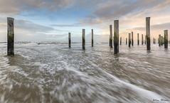 Petten (Wim Boon Fotografie) Tags: wimboon canoneos5dmarkiii canonef1635mmf4lisusm leefilternd09softgrad petten holland nederland netherlands natuur nature beach winterlicht sunset water