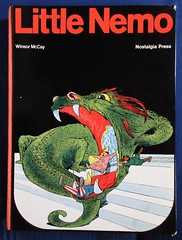 Little Nemo Winsor McCay 1905 to 1910 from 1972 NYC 2462 (Brechtbug) Tags: little nemo winsor mccay 1905 1910 including later version running from 1911 1914 or 1924 1926 black white color random mix sunday funnies comic strip newspaper news paper vaudville daily comics funny humor satire character characters clown clowns syndicate n slumberland windsor fantasy animation mccays the new york herald tribune papers cartoonist animator city 2019 nyc published 1972 nostalgia press publication printed italy