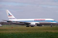 N607P Boeing 767-201ER Piedmont (Keith B Pics) Tags: n607p 767 boeing piedmont egkk gatwick lgw keithbpics n647us c0fkfl zkkfh b767