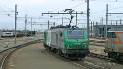 BB 27154, Villeneuve Saint Georges - 29/05/2010 (Thierry Martel) Tags: bb27000 villeneuvesaintgeorges locomotiveélectrique sncf