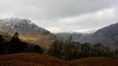 Snow-capped hills (moniquerebanks) Tags: hills snowcappedhills ullswater lakedistrict cumbria scenery view landscape landschaft landschap heuvels snow sneeuw nikond7100 nature keldas